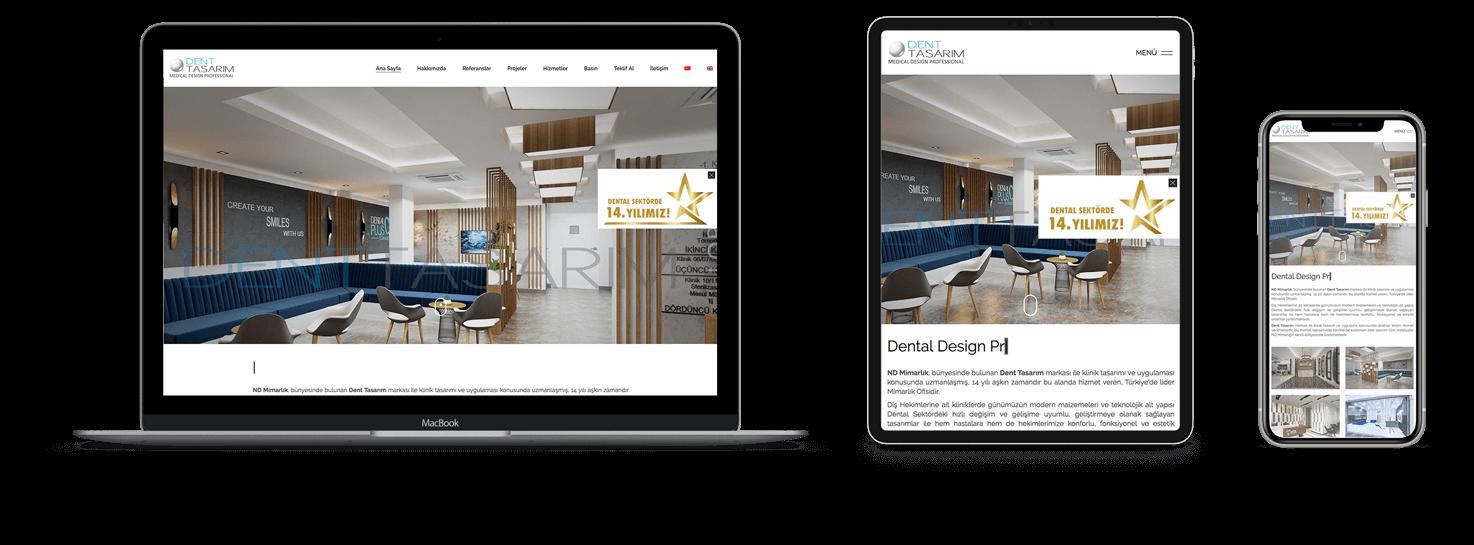 ozon tedavi web site tasarımı